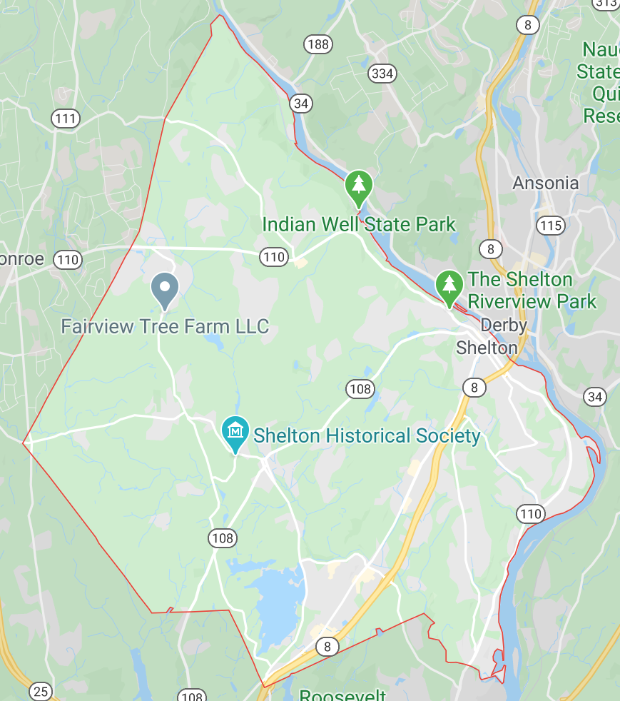 what county is shelton ct in